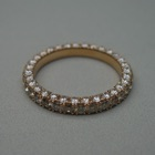 Nr. 162, 750/000 Rosegold, 31/31 Brillanten Champ./LPR, (1,8/2,0 mm, 1,77 ct), spez. Pavee/Fishtail